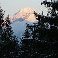 Widok z okna w Murzasichle #widoczek #góry #murzasichle #zachód #słońca