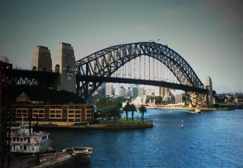 Habour Bridge, Sydney #HabourBridge #zatoka #ocean #Sydney #most