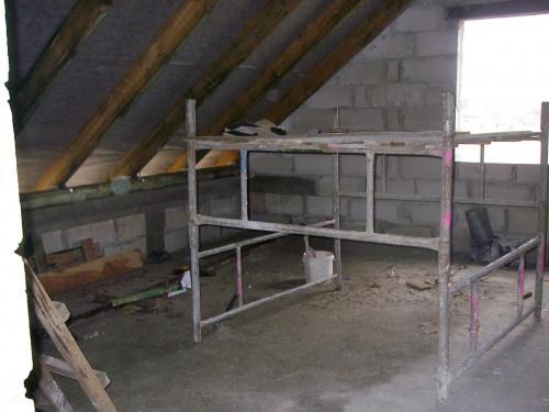 Mały pokoik na piętrze... #BudowaAgatkaIngProjekty