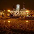 Ratusz w Turku #Turek #ratusz #noc #wieczór #fireman