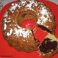 Babka łaciata Babci Basi.Przepisy na : http://www.kulinaria.foody.pl/ , http://www.kuron.com.pl/ i http://kulinaria.uwrocie.info/ #ciasta #babki #podwieczorek #słodkości #jedzenie #kulinaria