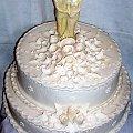 perłowy #tort #weselny #perłowy