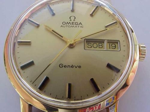 Omega Geneve 1976r Gold