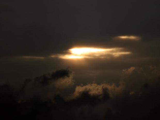 chmurki #chmura #słońce #zachód