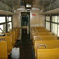 Koszalińska Kolej Wąskotorowa - Mbxd2-307. Wnętrze. 23.05.2008 #Koszalin #Wąskotorówka #TMKW #KoszalińskaKolejWąskotorowa