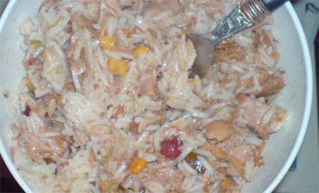 tuńczyk z ryżem