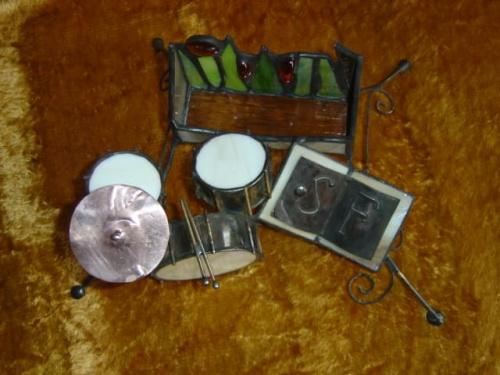 Wizytownik - prezent dla perkusisty SF