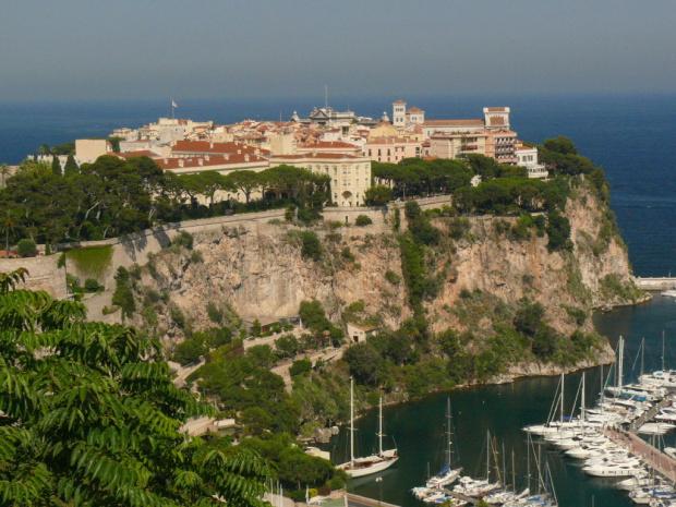 Widok na Pałac Książecy #MonacoIMonteCarlo