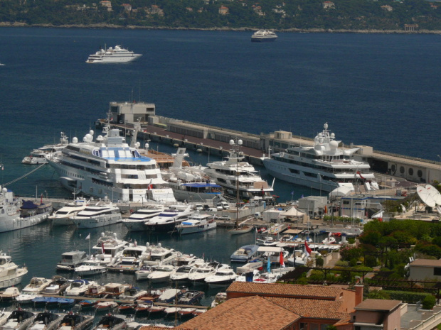 Widok na port #MonacoIMonteCarlo