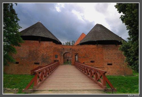 Zamek kazimierza Wielkiego w Międzyrzeczu #Międzyrzecz #Obra #zamek #muzeum