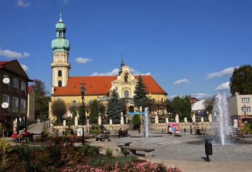 Tychy, Rynek 2008 #Tychy #rynek #kościół #tyskie