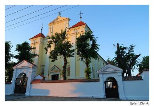 Kościół św. walentego w Radlinie #Radlin #Żerków #kościół