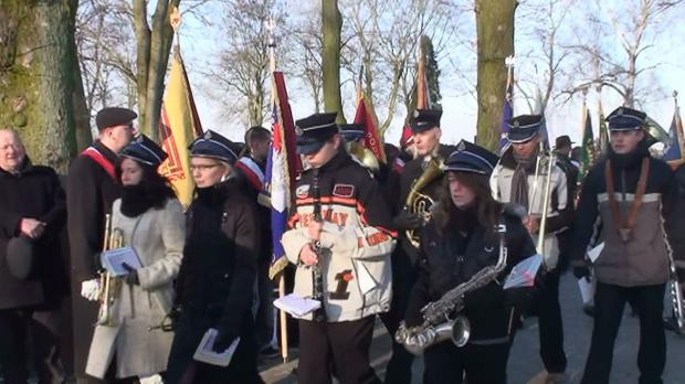 Orkiestra Dęta OSP Strzelno pod batutą druha Jacka.