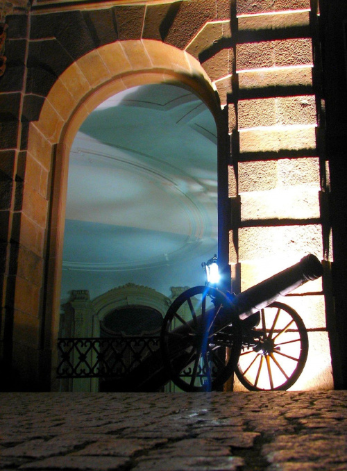 armata na Książu :D nocne zwiedzanie