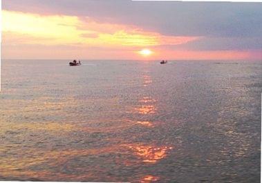 #ZachódSłońca #morze