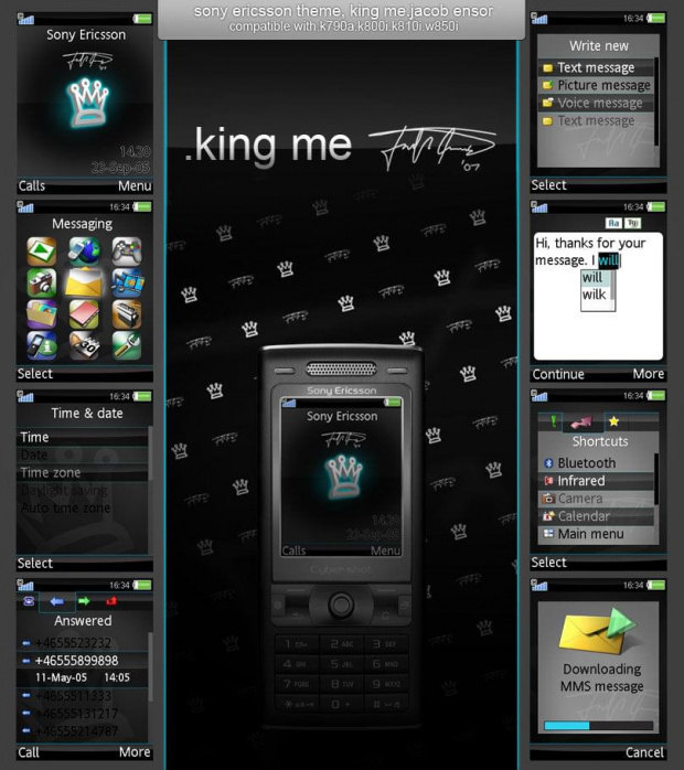 Free download cellphone themes
