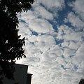niebo z okna #niebo #chmury #chmura #okno