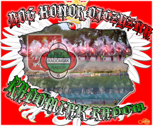 Bóg Honor Ojczyzna - Radomiak Radom #Radomiak #RKS #Polska