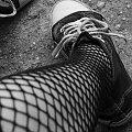 Noga tak poprostu noga... :P #Trampki